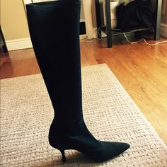 Stuart Weitzman High Suede Boot High Suede Boot. Worn 2x. Perfect condition Stuart Weitzman Shoes Heeled Boots