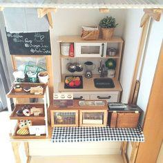 My Shelf/IKEA/DIY/カフェ風/リメイク/おままごとキッチン...などのインテリア実例 - 2016-01-13 04:54:39 | RoomClip (ルームクリップ)