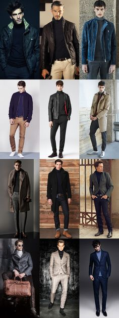 5 Key Transitional Pieces For Autumn 2014: Fine Gauge Roll Neck Lookbook Inspiration