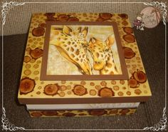 jacarelado - Buscar con Google Decoupage, Painted Boxes, Shabby Chic, Lily, Frame, Blog, Painting, Boxing, Home Decor