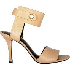 A.Wang Amber Mid Heel Sandal ($575) ❤ liked on Polyvore