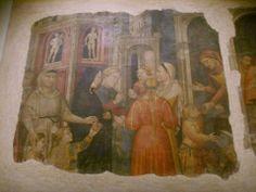 """""""I capitani della misericordia affidano alle madri i fanciulli abbandonati 1385  Firenze... grazie Rose"""