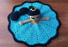 Princess Jasmine Inspired Lovey/ Security Blanket/ Amigurumi Doll/ Crochet Princess Jasmine Doll-- Made To Order  ~ ITEM FOR SALE. Link correct when I checked on 04/03/2015