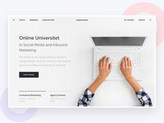 Ознакомьтесь с этим проектом @Behance: «Online Universitet.» https://www.behance.net/gallery/50091223/Online-Universitet