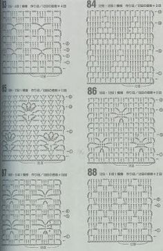 """A""-made by Ljubinka: Šeme za heklanje Granny Square Crochet Pattern, Crochet Diagram, Crochet Granny, Crochet Quilt, Crochet Stitches, Stitch Patterns, Crochet Patterns, Crochet Ideas, Hat Crafts"