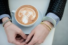 latte + jewels