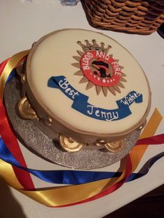 Salvation Army themed retirement cake
