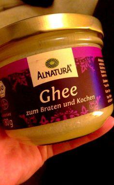 #ghee, toller ölersatz - indischer Butterschmalz mit nussigem Geschmack