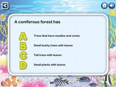 Did you know why plants in the rain-forest have drip tip leaves? find answers for all your ecosystem related questions with Ecosystems HD app Educational Apps For Kids, Wow Facts, Biomes, Small Plants, 7 Year Olds, Did You Know, Texts, Stuff To Do, Teaching
