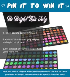 July Pin it to Win it!! Follow the Graphic rules to enter! GOOOD LUCK everyone!