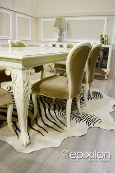 Dining table set silvia... #epixilon #creations #dining #table #buffet