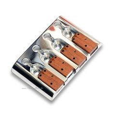 - Bridge for bass ETS.- Pontet wood for fretless sound.   - We ask the price of shipping.