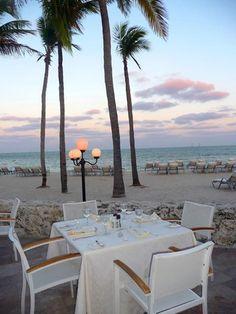 Fisher Island Beach Club for ocean front dining. Www.Miamihome.Com #FisherIsland. Www.Miamihome.Com #miamirealestate #fisherislandcondo