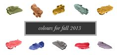 fall 2013 color trends | ... it in full visit ' Fall 2013 color trends ' at Fashionising.com