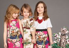 Dolce & Gabbana Children | Girl Collection for Fall Winter 2017-18