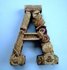 Cork Letter A
