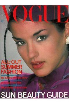 VOGUE, 1978. Model: Janice Dickenson.