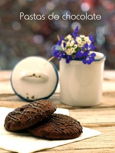 Bocados dulces y salados: Pastas de chocolate