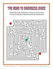 Free Bible Mazes for Children on Sunday School Zone Sunday School Curriculum, Sunday School Kids, Sunday School Activities, Sunday School Lessons, Sunday School Crafts, Bible Activities For Kids, Bible Crafts For Kids, Saul To Paul, Paul Bible