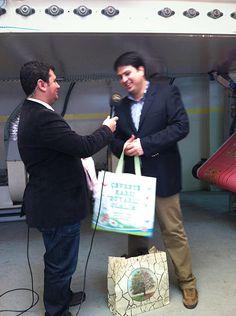 Çevre Dostu Bez Çantaları Tanıttık.