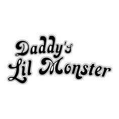 Daddy's Lil Monster Harley Quinn Tee - WrestleToys ❤ liked on Polyvore featuring tops, t-shirts, white t shirt, white tee and white top