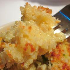 Cheesy Quinoa Mac & Cheese...good not great.
