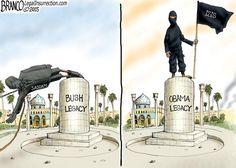 Bush vs Obama legacy