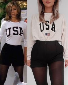 Rachel Green inspired outfits - ☕️🗽 By: Spring is in the air! Today I bring to your attention inspiring casual outfit ideas for women. Rachel Green Outfits, Rachel Green Mode, Estilo Rachel Green, Rachel Green Style, Rachel Green Fashion, Vintage Outfits, Retro Outfits, Chic Outfits, 90s Fashion