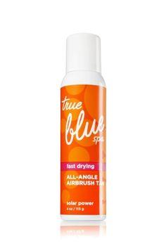 Solar Power All Angle Airbrush Tan - True Blue® Spa - Bath & Body Works #EastwoodPinPals