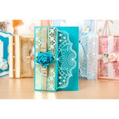 Tattered Lace Ornamental Lace Card Shapes (388179) | Create and Craft