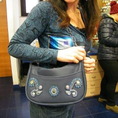 Made by my mum !! embroidery purse