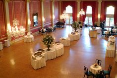Poinsett Club - Red Ballroom