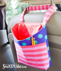 Show Off Saturday... my new Car Diddy Bag {with Tula Pink All Stars!!!}