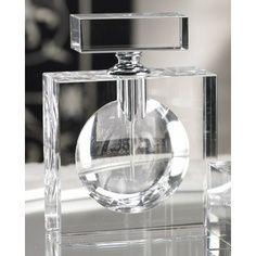 Zodax Modern Morocco Glass Rectangular Perfume Bottle #zodax #perfume #homedecor #Morocco