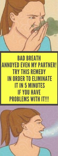 Numerous problems can cause bad breath: fungus, bacteria, food, drink etc. Health Diet, Health And Nutrition, Health And Wellness, Health Vitamins, Natural Health Tips, Natural Cures, Herbal Remedies, Health Remedies, Wellness Fitness