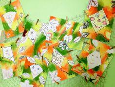 DRACI V BARVÁCH PODZIMU, 4. ročník, 11/2013 Autumn Activities For Kids, Art For Kids, Fall, Blog, Autumn, Art Education, Kite, Do Crafts, Art For Toddlers
