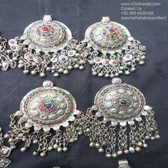 vintage pendants para kuchi Colgantes afganos del tribal del kuchi