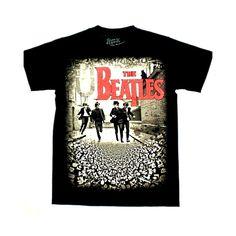 Maglietta dei Beatles in strada