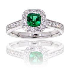 Some emerald jewellry.