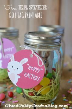 Free Easter Gift Tag Printable