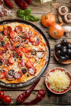 Check out Tasty pizza by Grafvision photography on Creative Market