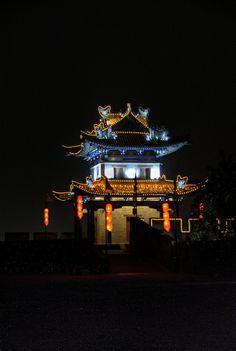 Xian at night | China
