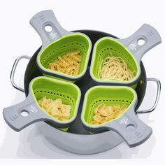 Portion Control Pasta Cooker    This is cute