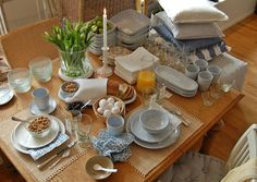 Servise fra Tine K Display Ideas, Tat, Table Settings, Home, Staging, Dish Sets, Dining Room, Scrap, Ad Home
