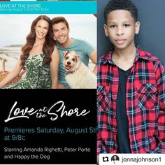 """Save the date! 8.5.17  #Repost @jonnajohnson1  Mark your Calendars to tune in on Saturday August 5th on The Hallmark Channel! My son Thomas Jr. in the role of """"Grayson"""" is a must see! He had such a wonderful time filming this from all the exciting adventures involving stepping up to the plate for a special scene that he was brought on to do with courage & dedication! I'm very proud of him & his accomplishments with this role! #coachedbyjonnajohnson #FamilyOfActors #Hallmark #SupremeTalent…"""