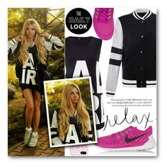 """""""Relax"""" by stylemoi-offical ❤ liked on Polyvore featuring NIKE and stylemoi"""