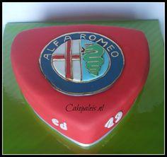 Alfa Romeo taart