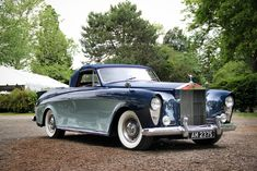 Rolls-Royce Silver Cloud I Drophead Coupe by Freestone & Webb, 1957.   This Freestone & Webb 2-seat drophead coupe was  a very significant car in Rolls-Royce history.