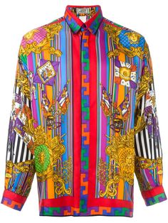 Versace Vintage printed shirt