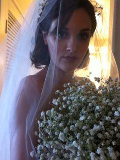Wedding day selfies.